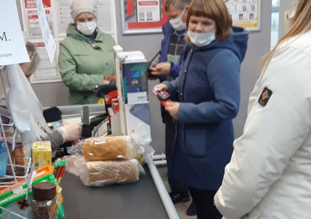 В Саранске в 1 из районов было проверено соблюдение масочного режима